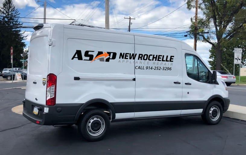 new rochelle appliance repair van